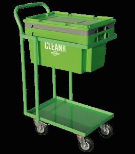 Clean Box med låg, kurv og vogn