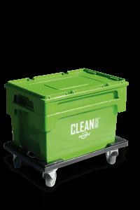 CLEAN BOX med låg og kurv