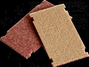 Standard cleaning pad, 90 x 50 x 4 mm