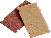 Standard cleaning pad, 90 x 50 x 4 mm